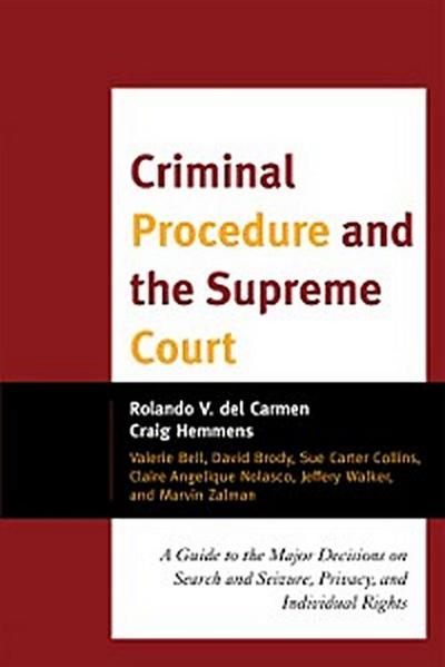 Criminal Procedure and the Supreme Court