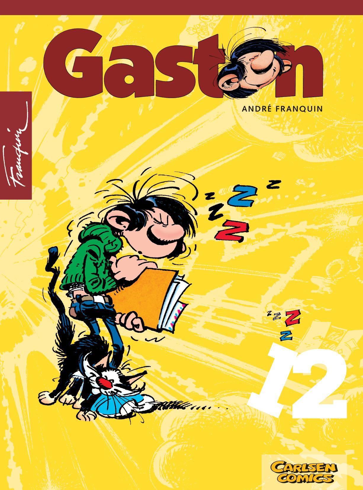 Gaston 12 André Franquin