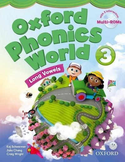 Oxford Phonics World 3 Student's Book with MultiROM
