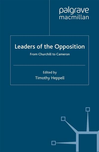 Leaders of the Opposition