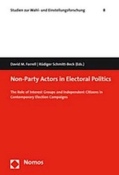 Non-Party Actors in Electoral Politics