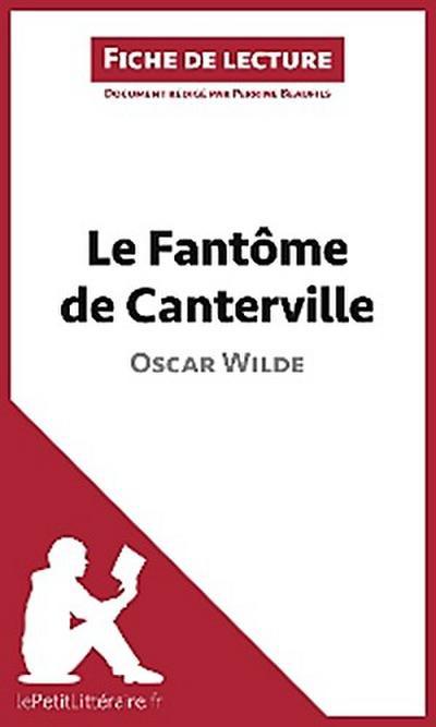 Le Fantôme de Canterville de Oscar Wilde (Fiche de lecture)