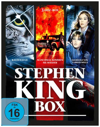 Stephen-King-Horror-Collection Bluray Box