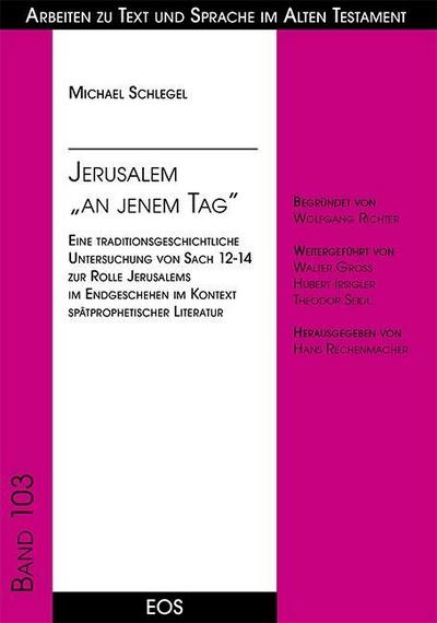Jerusalem 'an jenem Tag'