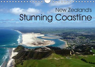 New Zealand's Stunning Coastline (Wall Calendar 2019 DIN A4 Landscape)