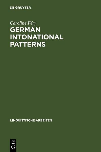 German intonational Patterns