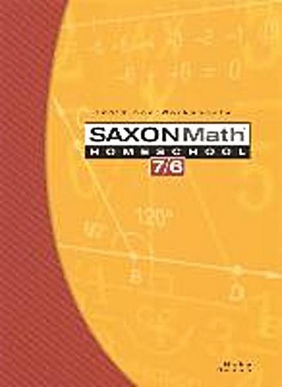 Saxon Math Homeschool 7/6: Tests and Worksheets