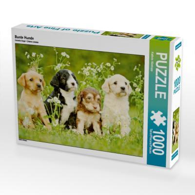 Bunte Hunde (Puzzle)