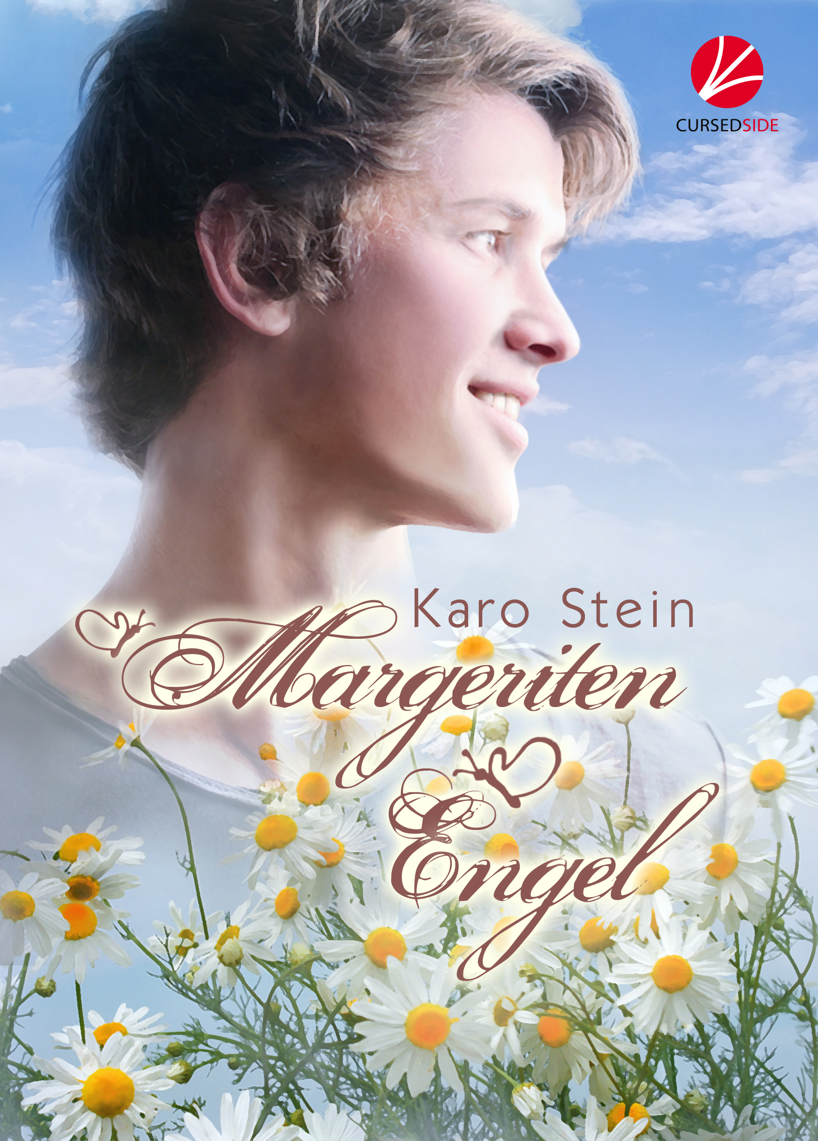 Margeriten-Engel Karo Stein