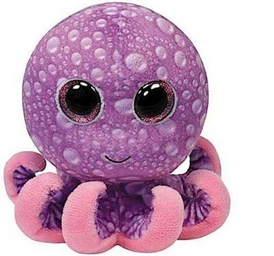 Legs - Octopus pink/violett, 15cm