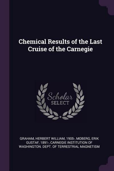 Chemical Results of the Last Cruise of the Carnegie