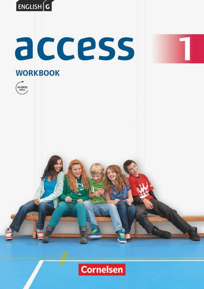 English G Access 01: 5. Schuljahr. Workbook mit mit Audios online und MyBook
