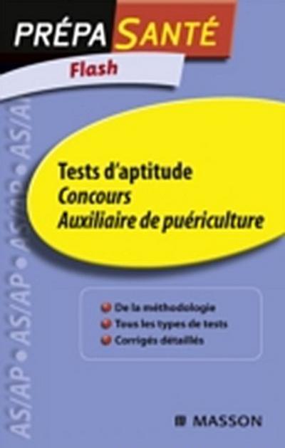 Flash Tests d'aptitude Concours Auxiliaire de puericulture