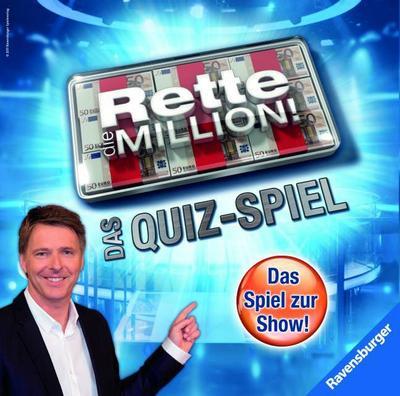 Ravensburger 27201 - Rette die Million - Das Quiz-Spiel