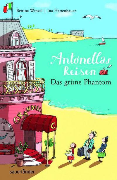 Antonellas Reisen. Das grüne Phantom; Sauerländer Kinderbuch; Ill. v. Hattenhauer, Ina; Deutsch; 30 schw.-w. Abb., 30 Illustr.