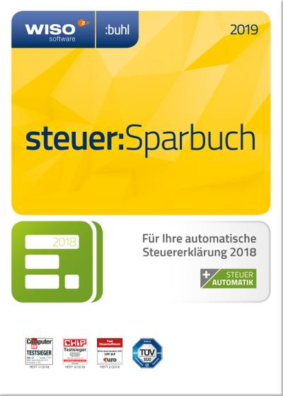 WISO steuer:Sparbuch 2019, 1 CD-ROM