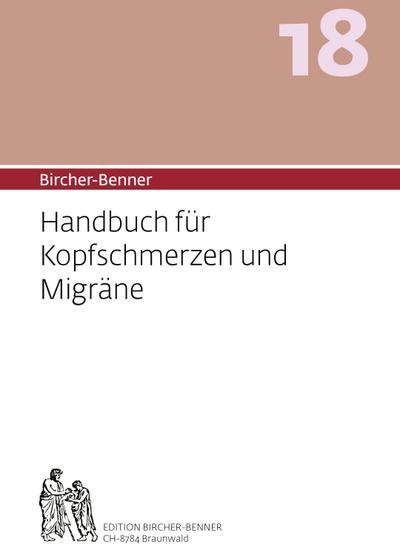 Bircher-Benner 18 Handbuch für Kopfschmerzen und Migräne