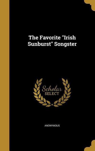 FAVORITE IRISH SUNBURST SONGST