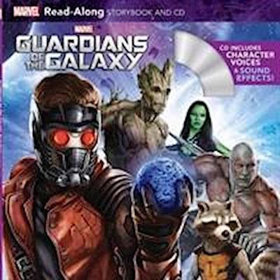 Guardians of the Galaxy Read-Along Storybook and CD - Marvel Press - Taschenbuch, Englisch, Megan Ilnitzki, ,