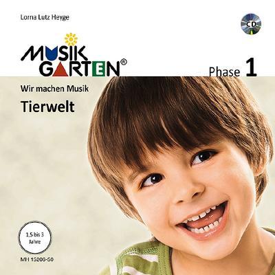 Musikgarten 1 - Tierwelt - Liederheft inkl. CD