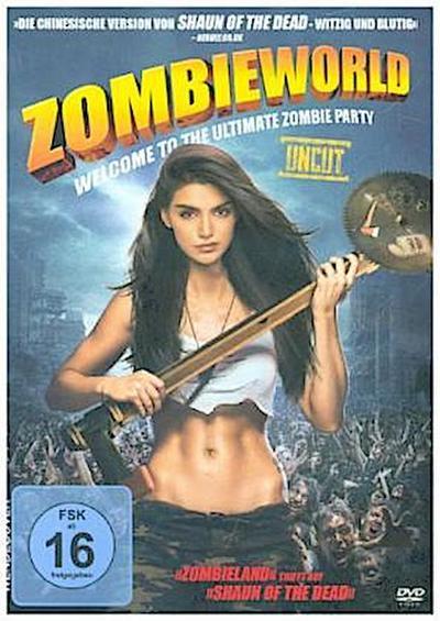 Zombieworld, 1 DVD (Uncut)