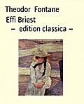 Effi Briest -  edition classica -
