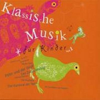 Klassische Musik für Kinder Vol. 1. 2 Klassik-CDs