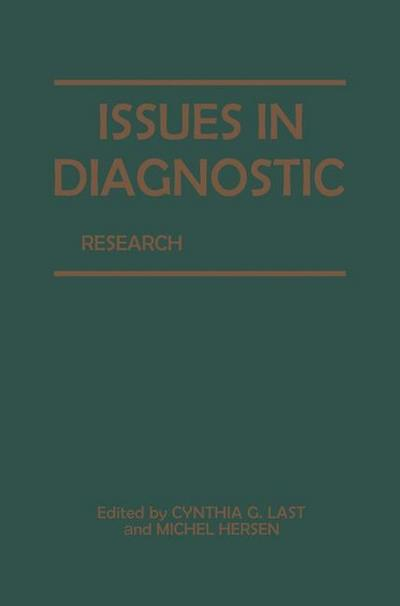 Issues in Diagnostic Research