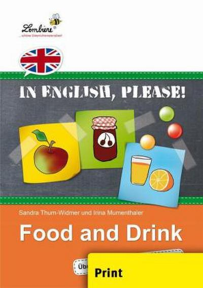In English, please! Food and Drink (PR)