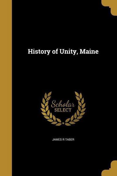 HIST OF UNITY MAINE