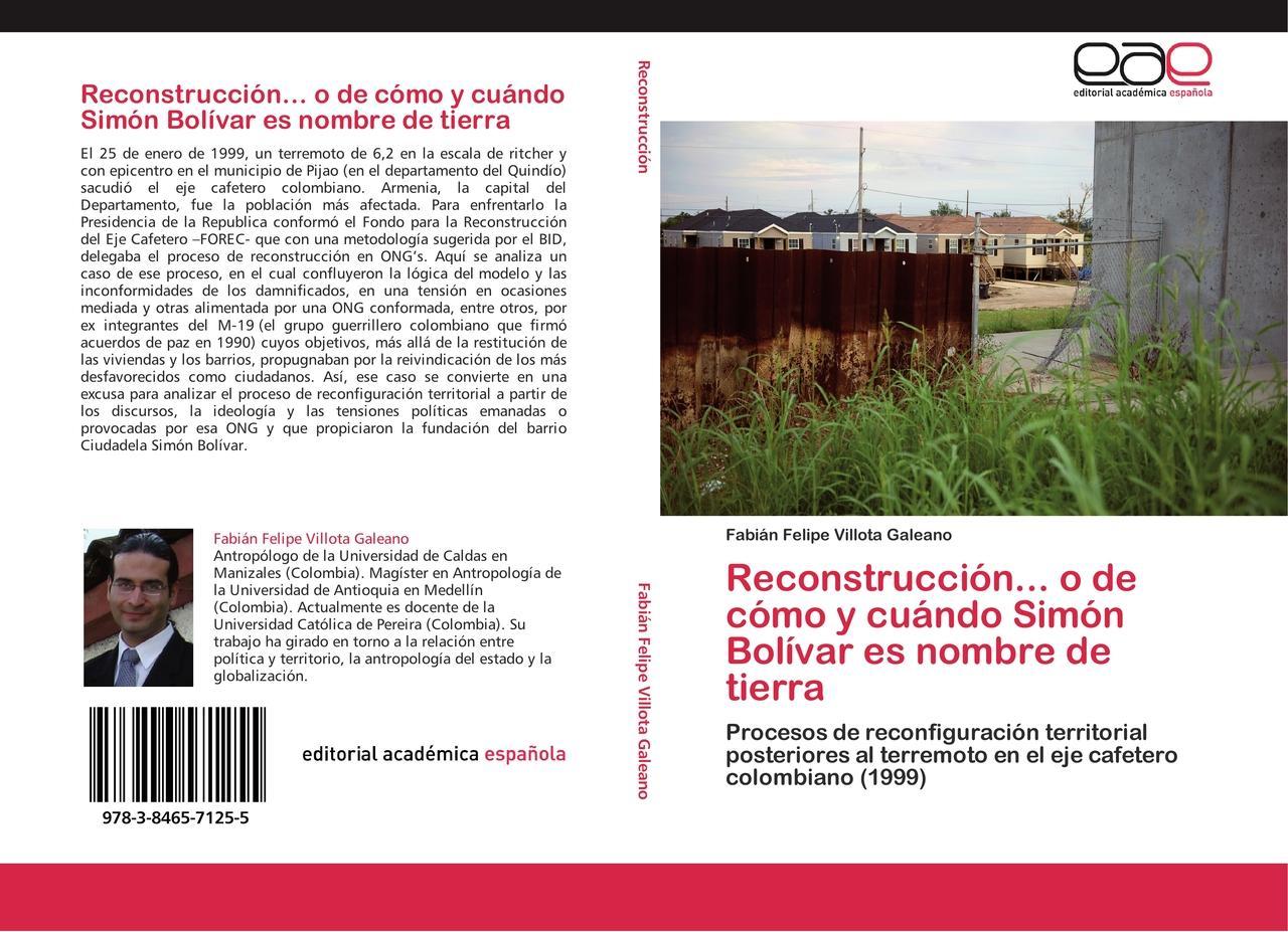 Reconstrucción... o de cómo y cuándo Simón Bolívar es nombre ... 9783846571255