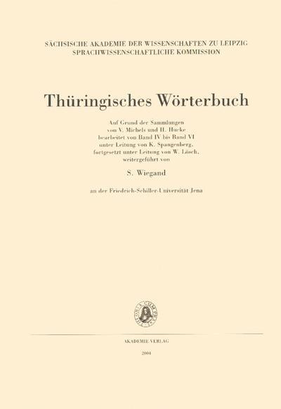 Thüringisches Wörterbuch, Bd.3 : 4. Lieferung (kätzen Kohlrunkel): BD III /Lfg 4