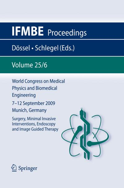 World Congress on Medical Physics and Biomedical Engineering September 7 - 12, 2009 Munich, Germany