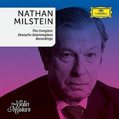 Nathan Milstein - The Complete Deutsche Grammophon Recordings, 5 Audio-CDs (Limited Edition)