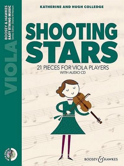 Shooting Stars (+CD)for viola and piano