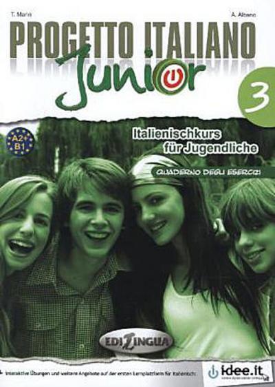 Progetto Italiano Junior für deutschsprachige Lerner Arbeitsbuch - Telis Marin