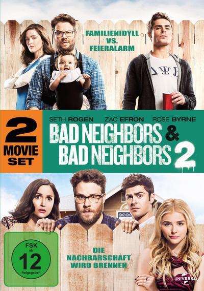 Bad Neighbors 1 & 2, 2 DVD