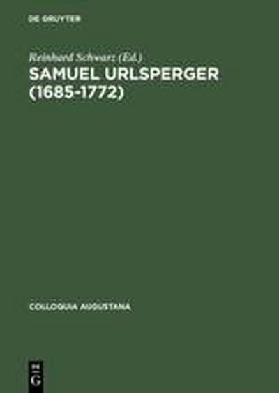 Samuel Urlsperger (1685-1772)