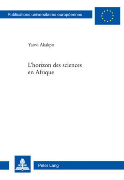 L'horizon des sciences en Afrique