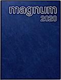 rido Buchkalender 2019 magnum PVC blau