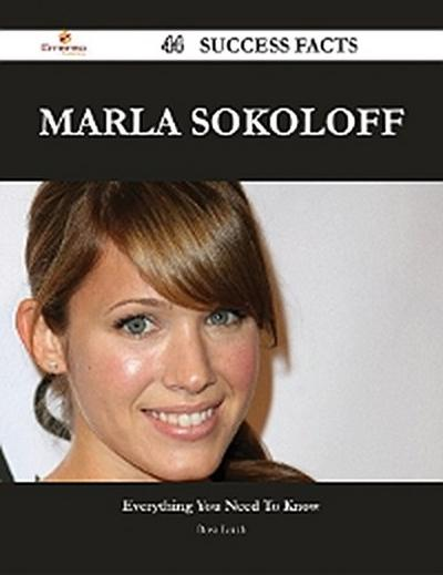Marla Sokoloff 44 Success Facts - Everything you need to know about Marla Sokoloff