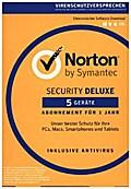 Norton Security Deluxe 3.0, 5 Geräte, Download-Code
