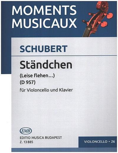 Ständchen D957 : für Violoncellound Klavier