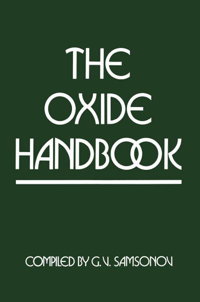 Oxide Handbook