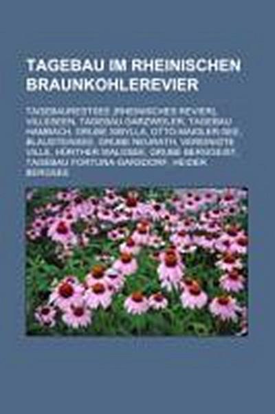 Tagebau im Rheinischen Braunkohlerevier