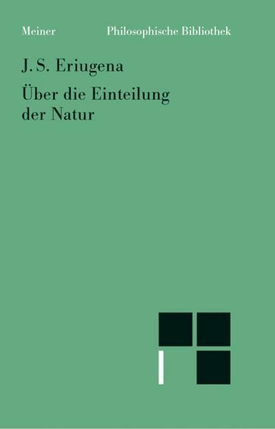 Über die Einteilung der Natur