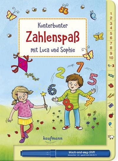 Kunterbunter Zahlenspaß mit Luca und Sophie