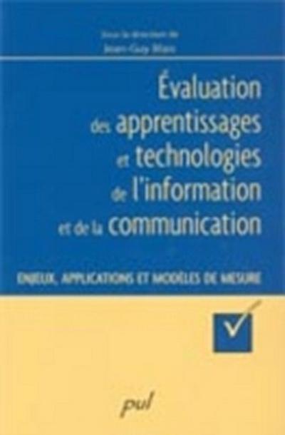 Evaluation des apprentissages et technologies de ...