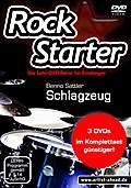 Rockstarter Vol. 1-3 - Schlagzeug (3 DVDs)
