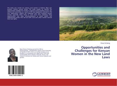 Opportunities and Challenges for Kenyan Women in the New Land Laws